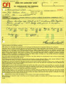 Orders for laboratory work [to] Bruce Herschensohn, Hollywood, Calif. [from] Consolidated Film Industries, Hollywood,...