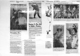 Assembled news clippings regarding Trancas Riders and Ropers activities