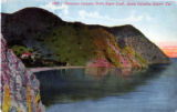 1890 - Descanso Canyon, from Sugar Loaf, Santa Catalina Island, Cal.