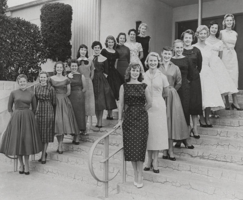 Homecoming queen and princess candidates of Pepperdine